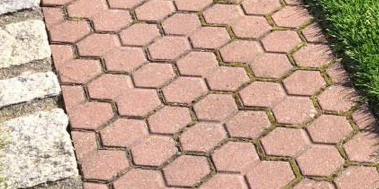 Pflastersteine Tri-Sechs
